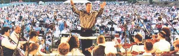 Ian McMillan conducts the London Pops Orchestra